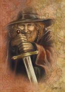 Godric Gryffindor by leelastarsky