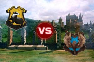 Hufflepuff VS Ravenclaw