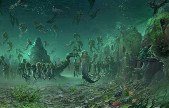Merpeople kingdom