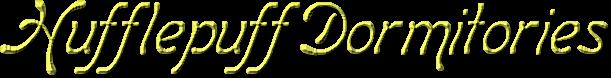 Hufflepuff Dorms