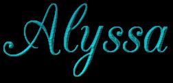 AlyssaName