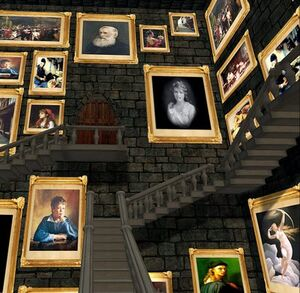 Hogwarts stairs