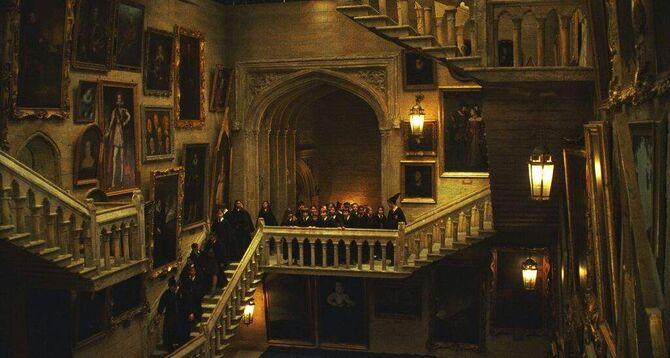 Grand Staircase Third Floor