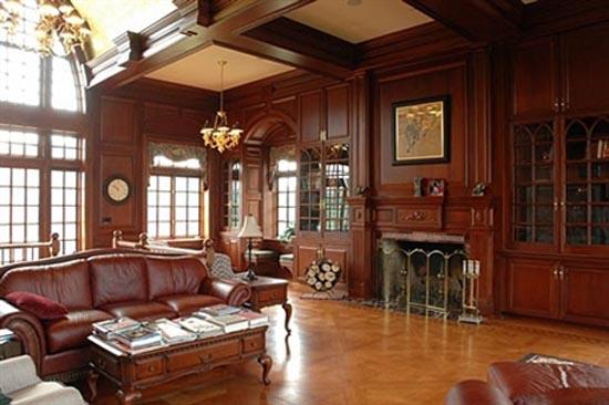 Knightley Mansion   Living Room