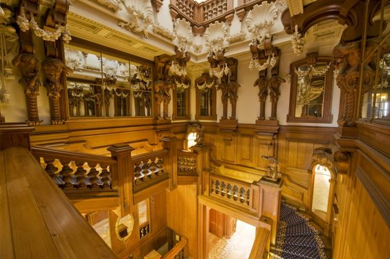 Grand Staircase Sixth Floor