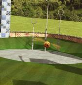 Quidditch training pitch