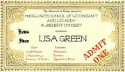 Wikia DARP - Benefit Concert-Ticket LeSw