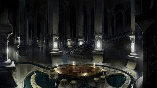 Arcana Alliance Castle Room
