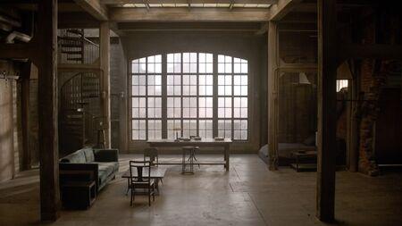Derek's empty loft