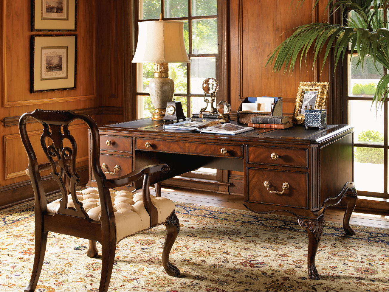 classy home furniture. Office-workspace-classy-home-office-decorating-idea-with-vintage-furniture -30-comfortable-office-decorating-ideas.jpg Classy Home Furniture
