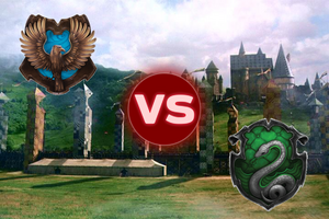 Ravenclaw VS Slytherin
