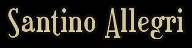Santino Allegri Name Pic
