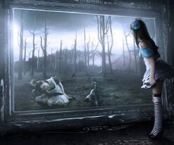 Alice in wonderland digital art tagnotallowedtoosubjective desktop 1920x1080 hd-wallpaper-838955