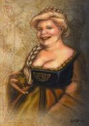 Helga Hufflepuff by leelastarsky