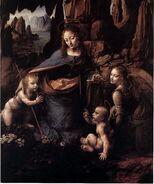 Madonna rocks Da Vinci