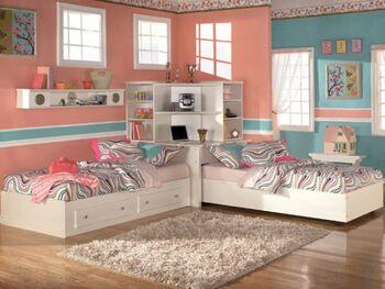 Black Girl's Bedroom