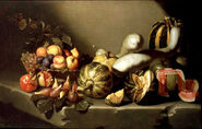 Michelangelo caravaggio 69 still life with fruit