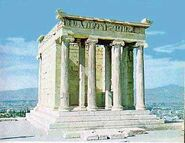 Temple of Athena-Athens