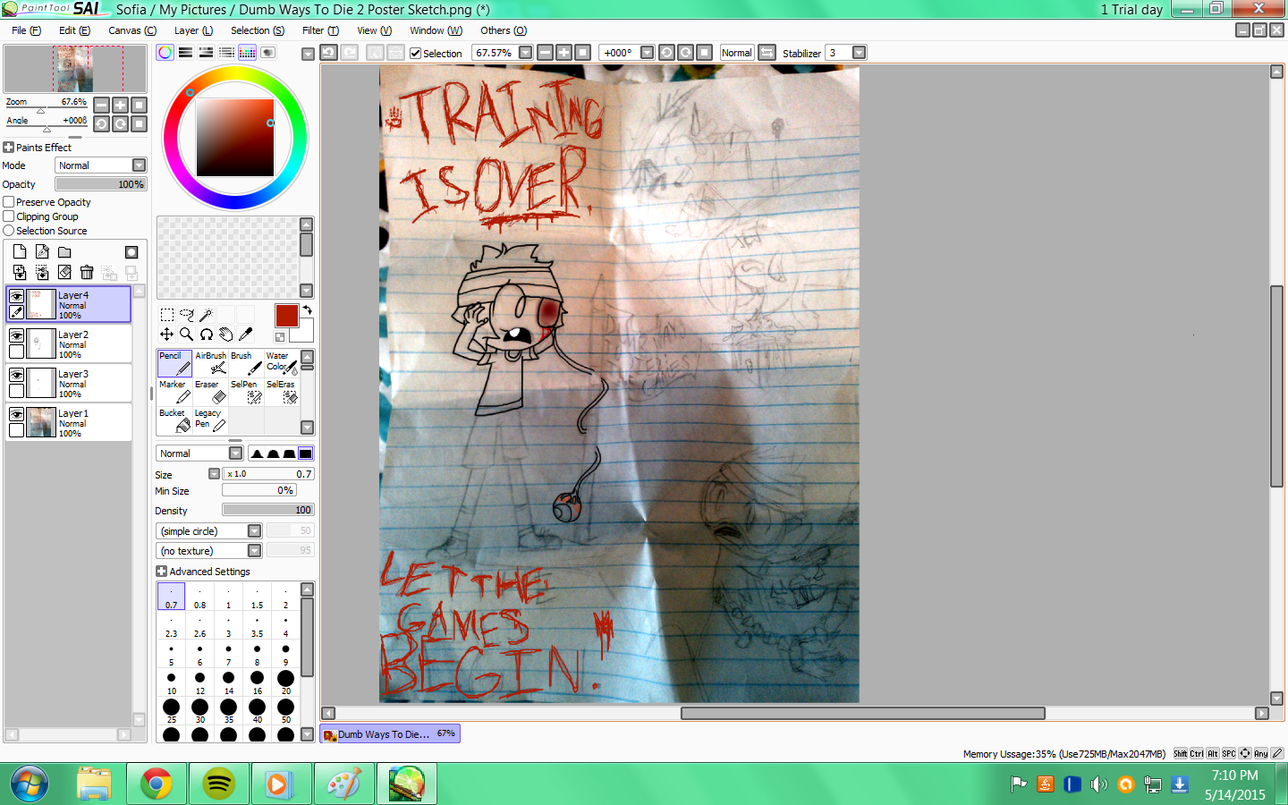 image so im starting to do stuff on paint tool sai png dumb ways