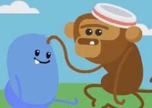 Tree Top Monkey Race