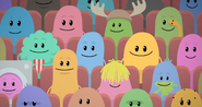 Happy Dumb Ways To Die Characters at Melbourne International Film Festival