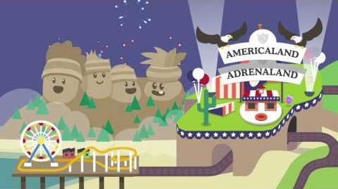 Dumb Ways to Die 2 the Games/Americaland