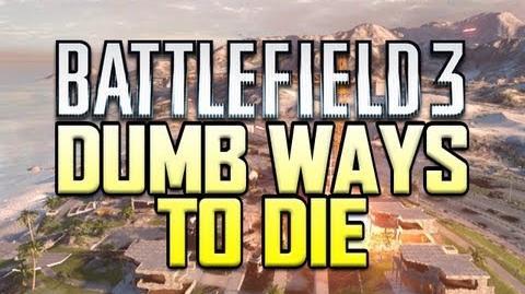 Dumb ways to die - Battlefield 3 Edition