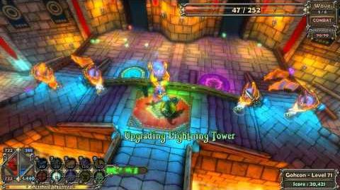 Dungeon Defenders Insane Level Guide - Apprentice - Magus Quaters TTTT