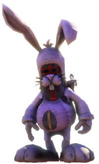 Bunnycostumepose