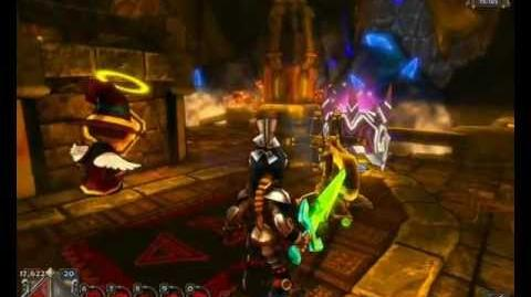 Glitterhelm Caverns Insane Squire Countess solo - Dungeon Defenders PC