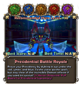 Presidentpromocard