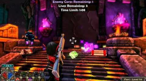 Dungeon Defenders - Solo Insane Assault walkthrough Huntress POV