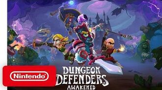 Dungeon Defenders Awakened - Announcement Trailer - Nintendo Switch