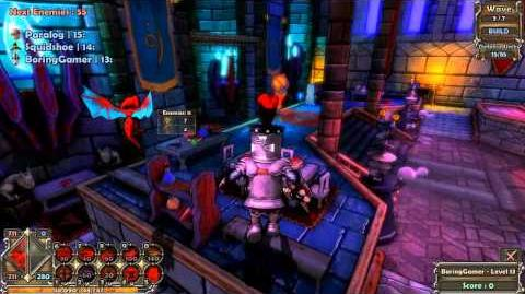 The Boring Gamer Dungeon Defenders Gameplay Part 2 - Multiplayer HD