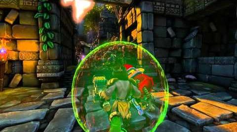 Dungeon Defenders - Barbarian Hero Class Trailer