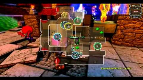 Insane death from above dungeon defenders