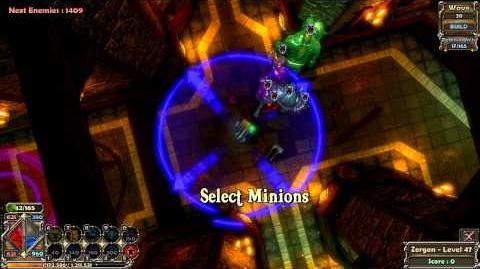 Dungeon Defenders - Summoner abilities overview