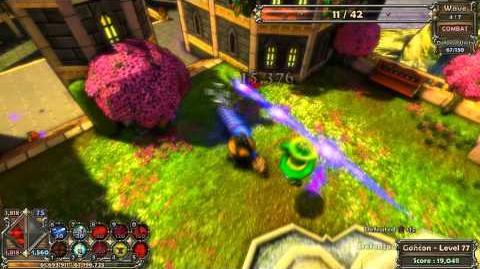 Dungeon Defenders Insane Level Guide - Apprentice - Royal Garden