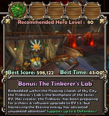 Tinkerer's Lab | Dungeon Defenders Wiki | FANDOM powered by