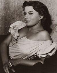 Silvana Mangano young