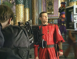 Matt Keeslar Dune filming