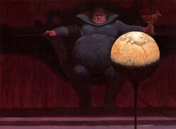 Baron Vladimir Harkonnen Illustrated Dune