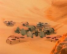 Smugglers desert camp 2000