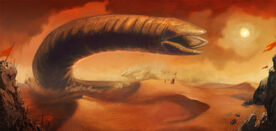 Dune-sandworm