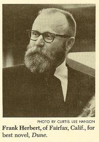 Frank Herbert Nebula 1965