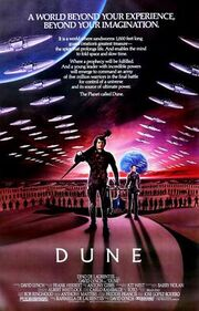 Dune 1984 poster