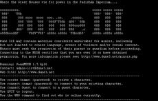DuneMUSH III screen