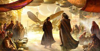 Jessica of Dune art Youll