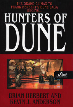 Hunters of Dune cover 2006