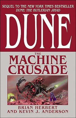 Machine Crusade cover 2003